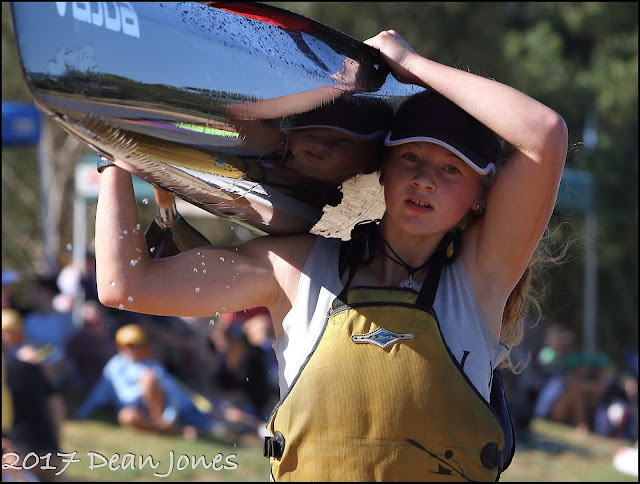 Kayaker Rachel De Krester