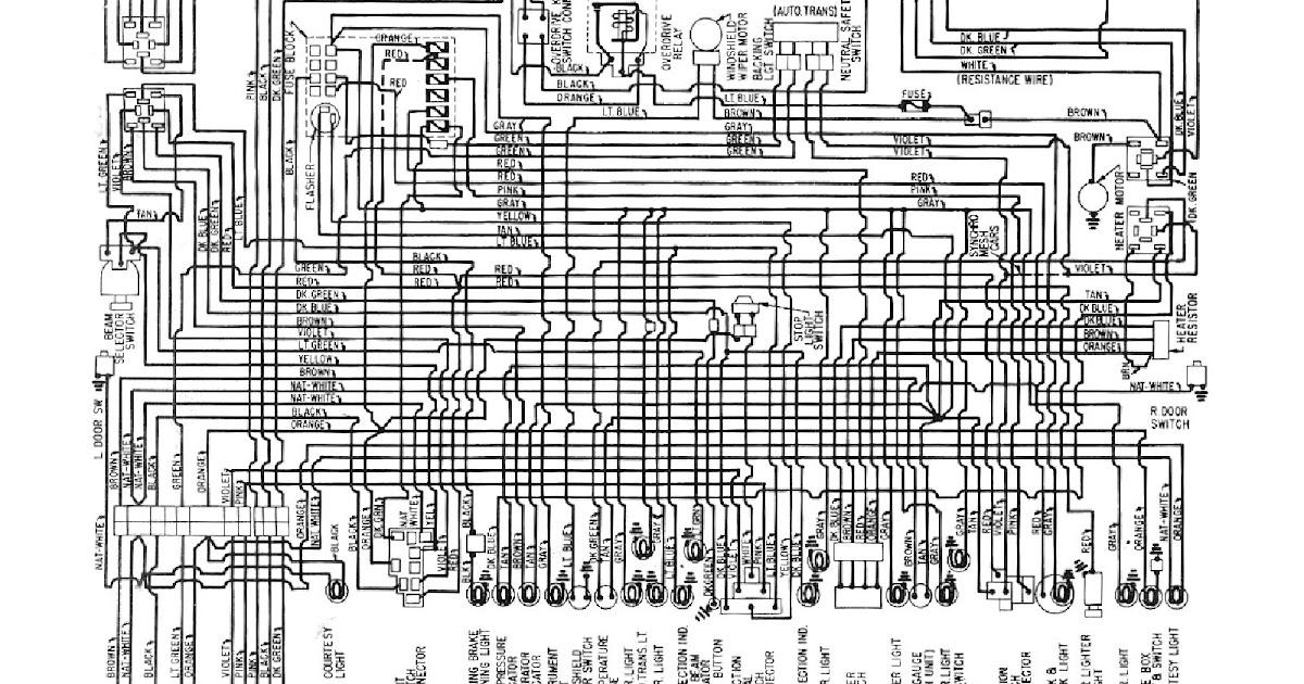 Free Auto Wiring Diagram: 1960 Chevrolet V6 Biscayne
