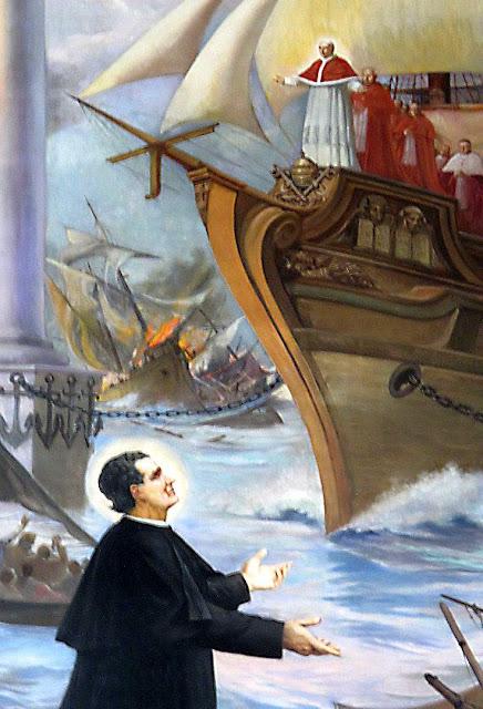 São João Bosco e o sonho das duas colunas