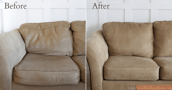 How To Make Your Lumpy Couch Look Like New Handy Diy