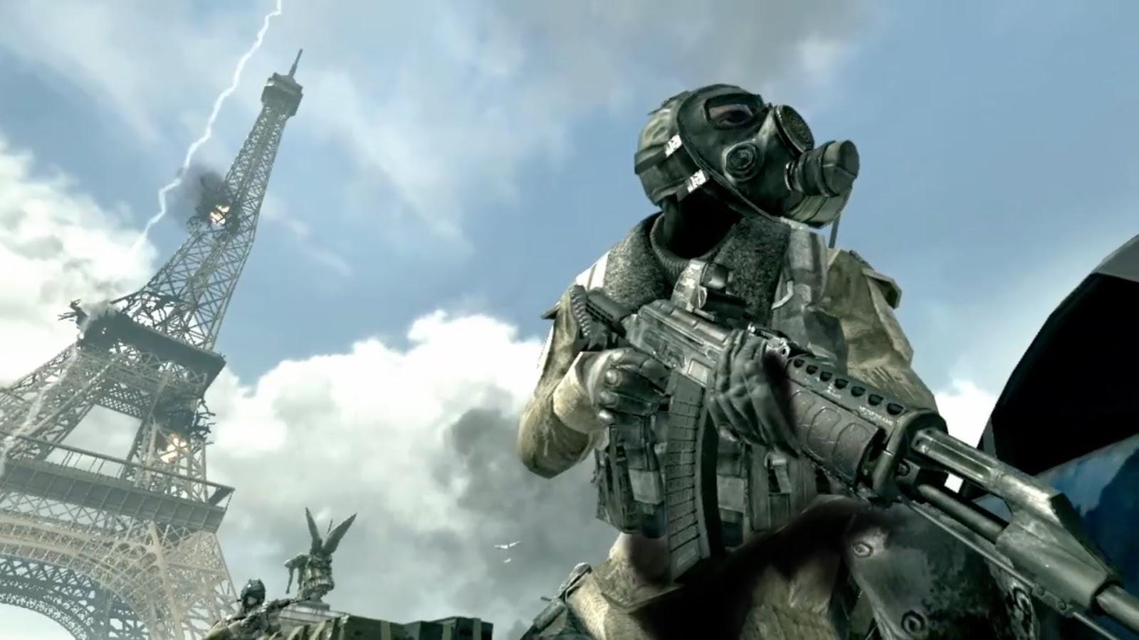 Bristolian Gamer: Trilogy Retrospective: Modern Warfare.