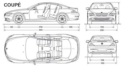 kich thuoc xe bmw 6 series coupe