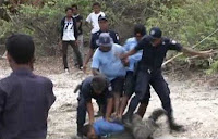 Police brutality in East Timor