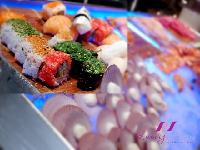 concorde hotel spices cafe buffet sushi review