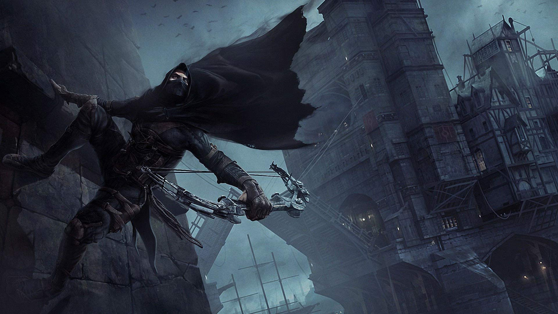 Playstation 4 Monster Hunter World >> Papel de Parede Jogo Thief - Papel de Parede Grátis para PC HD
