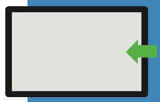 swipe dalla destra Come usare la gesture in Windows 10