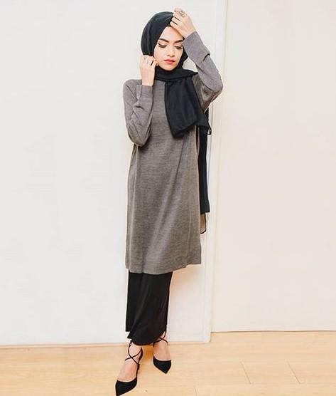 40+ Model Fashion Hijab Casual Modern Terbaru 2018: Simpel