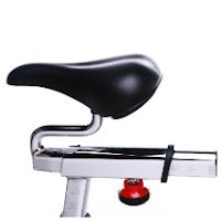 4-way adjustable saddle on Sunny Health & Fitness SF-B1509C and SF-B1509 spin bikes