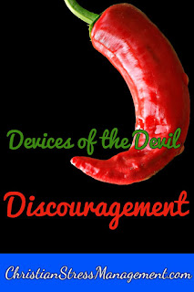 We Are Not Ignorant of the Devices of the Devil Discouragement