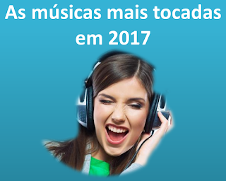 Quero escutar as músicas mais tocadas ou maiores sucessos no Brasil