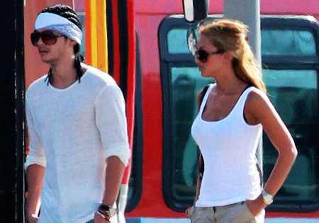Aliens of Tokio Hotel Tom Kaulitz y su novia Ria Sommerfeld