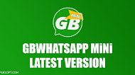 Download GBWhatsApp+ MiNi v9.90 Anti-Ban Latest Version