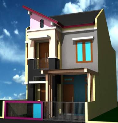 Gambar Rumah Minimalis 2 Lantai Type 36 Terbaru