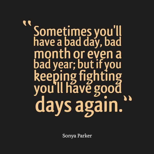 Worst New Year Quotes: AUTHOR SONYA PARKER QUOTES