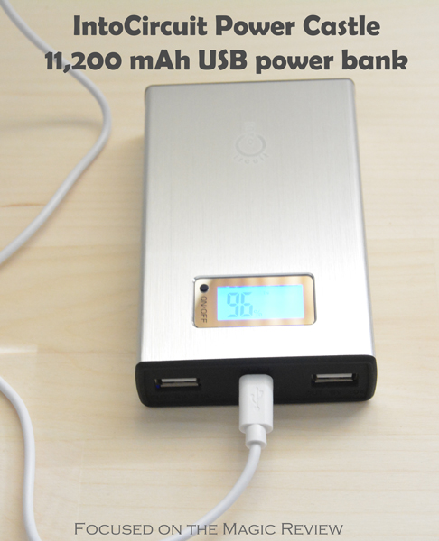 IntoCircuit Power Castle 11,200 mAh USB power bank | Focused on the Magic Review