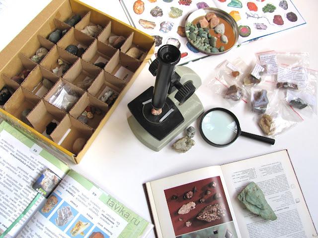 коллекция камней. Готовимся к уроку Окружающего мира, 2 класс
