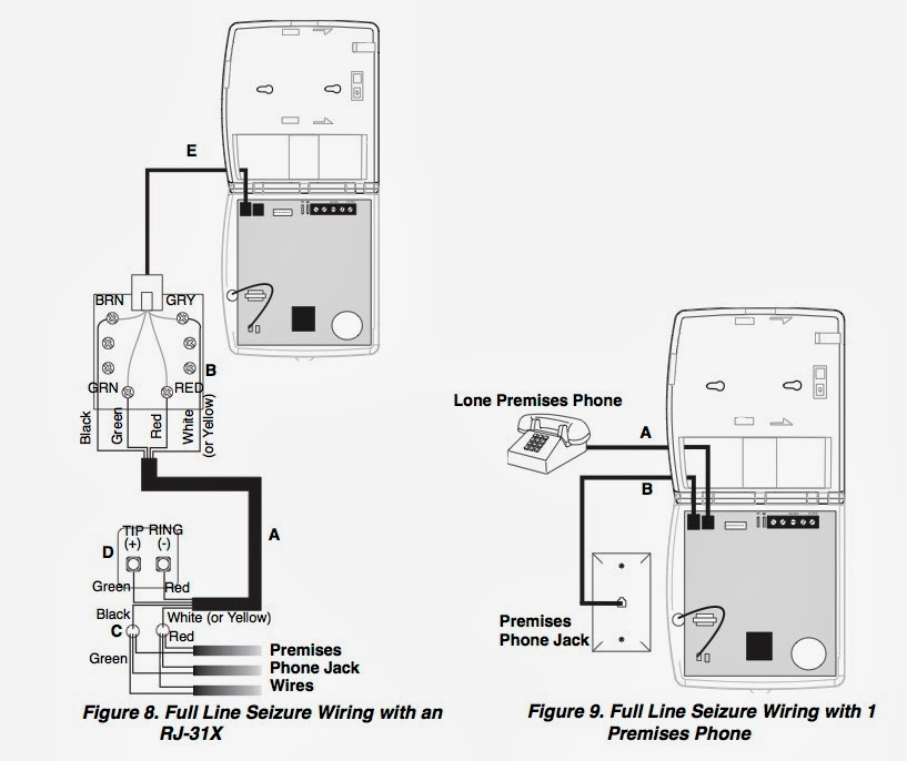 4 line phone jack wiring diagram