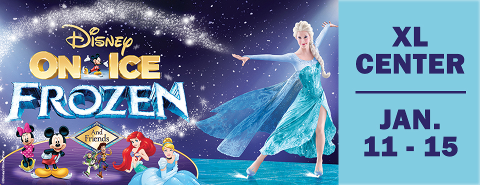 Disney on Ice - FROZEN comes to the XL Center in Hartford, CT. Ryan Kristafer brings you on the ice to see how the cast brings the magical f.