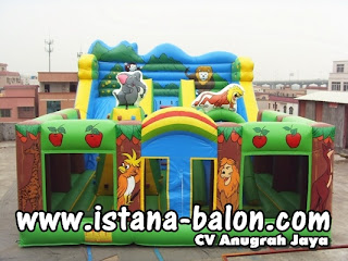 Istana Balon Animal 6x8