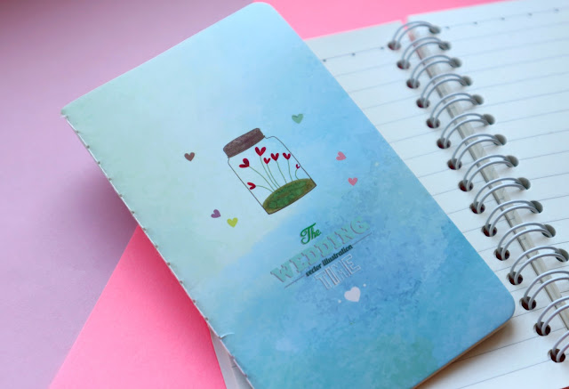 Romantic Wishing Bottle Notebook