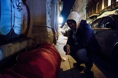 hajléktalanok, Csíkszereda, extrém hideg, Székelyföld,