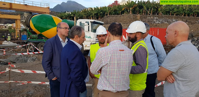 La carretera de circunvalación de Tazacorte estará terminada a finales de este año