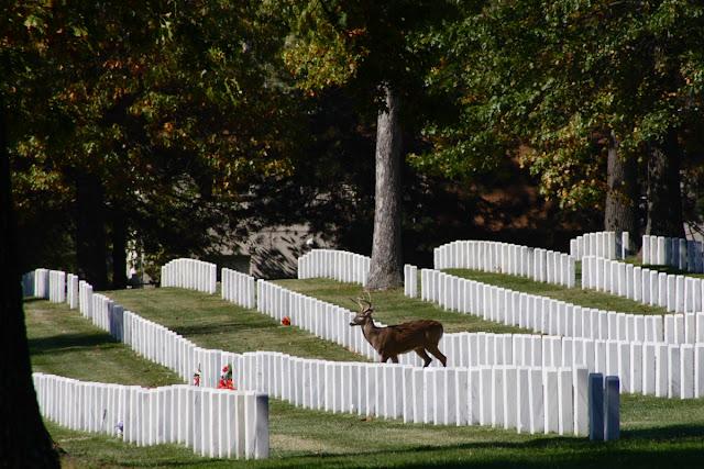 The Jefferson Barracks kuburan yang sering terlihat penampakan hantu