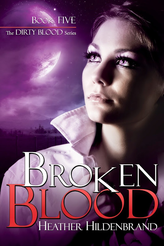 Broken Blood Cover Reveal