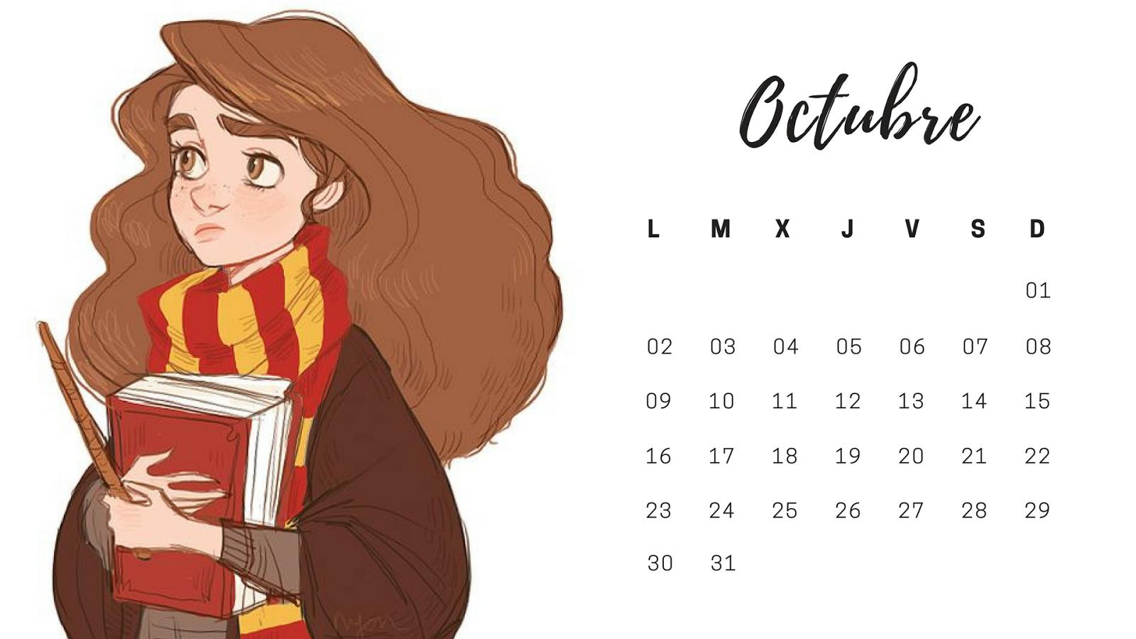 Calendario Harry Potter.Calendarios De Harry Potter