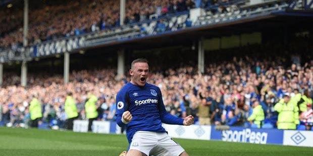 Kembali Ke Everton, Rooney Cetak Gol Perdana