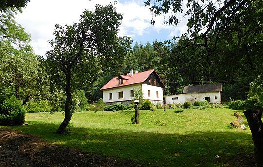 Leśniczówka w Czerwieńczycach.