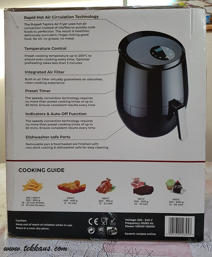 Benefits of Russell Taylors Air Fryer-My Honest Review