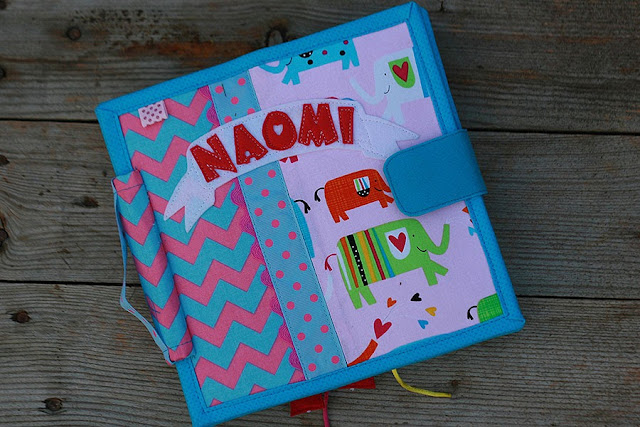 Quiet book for Naomi by TomToy