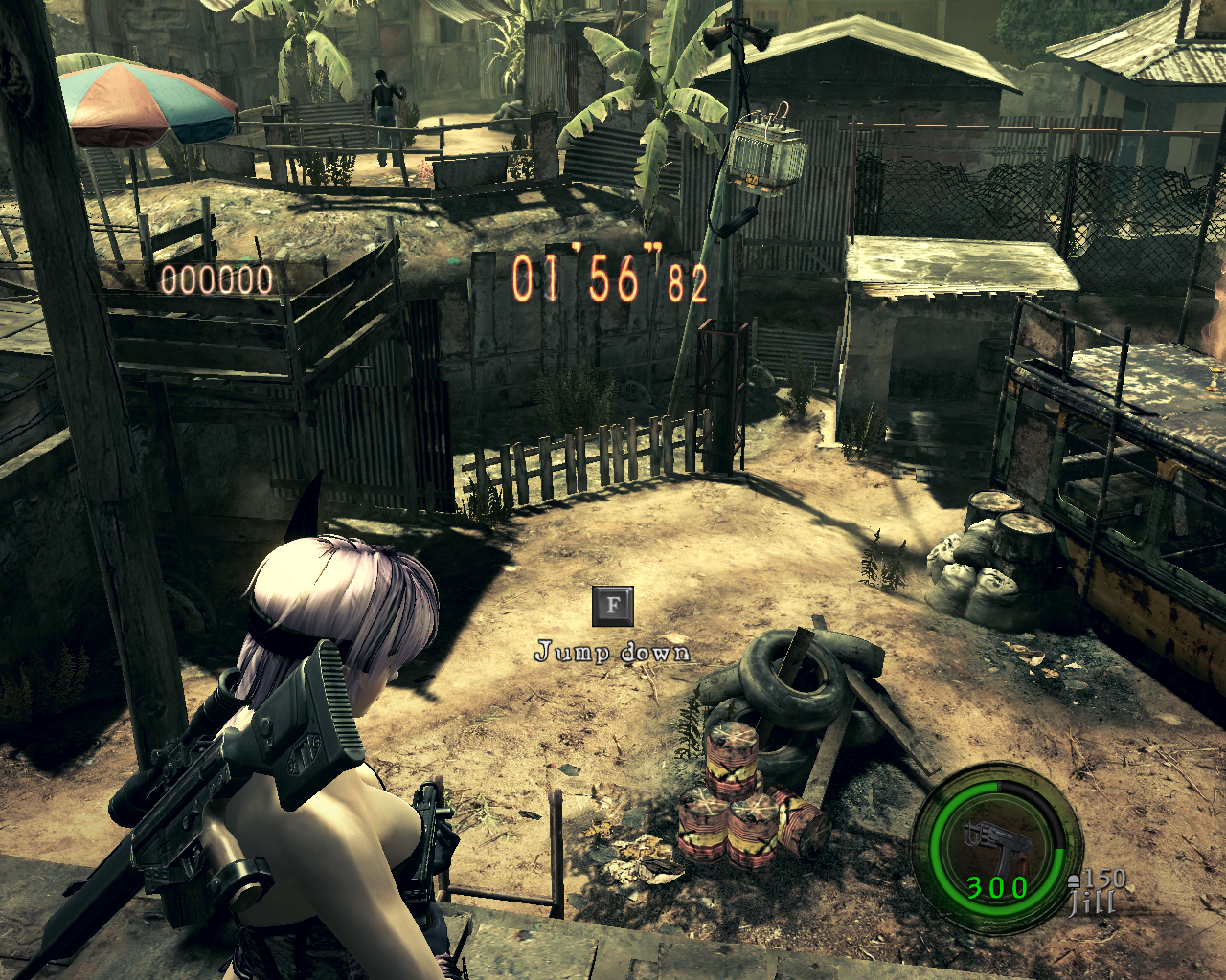 REL REP RE5]Fatal Frame 5 - Ayane For Jill Battlesuit