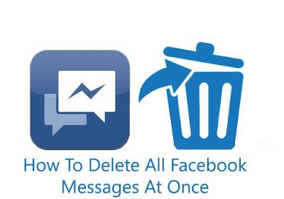 Delate All Facebook Messages With A Single Click