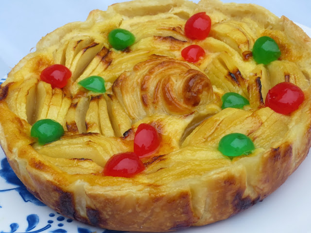 Tarta de manzana francesa Ana Sevilla