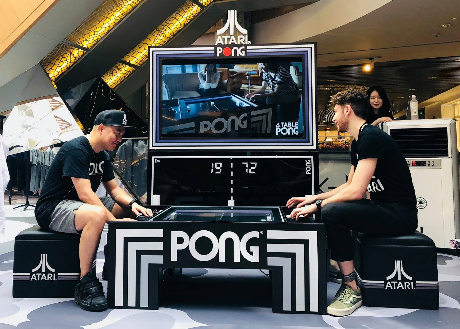 Atari Pong Tables CES 2019 Coverage