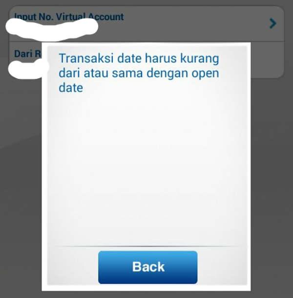 Solusi Rekening BCA Tidak Bisa Transfer Virtual Account
