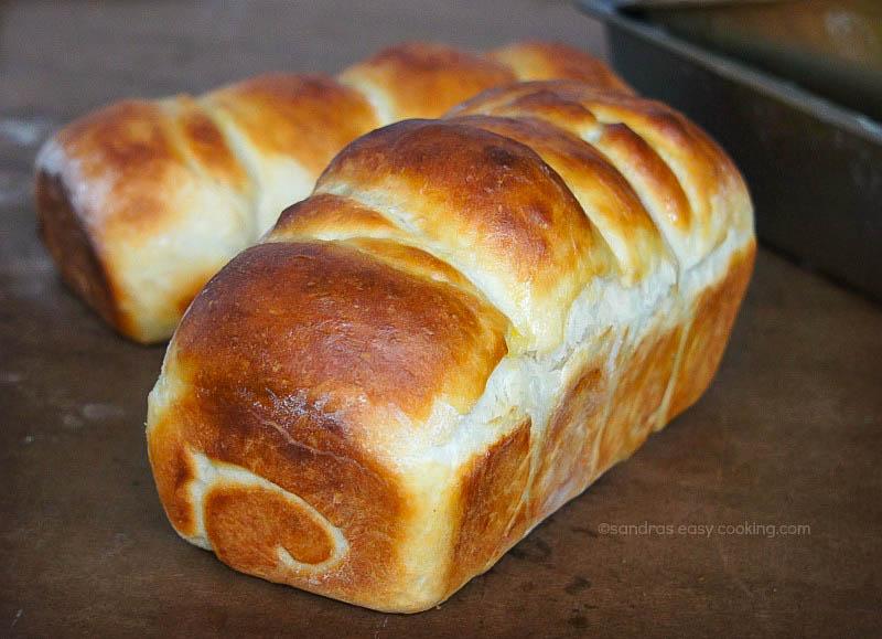 Recipe how to make Japanese Soft Milk Bread {Hokkaido Toast} with tangzhong