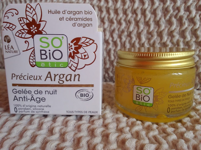 So Bio étic Argan Anti-Aging Night Gel