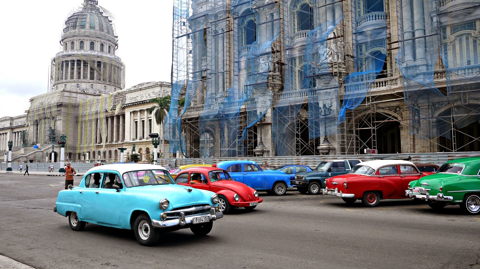 National Capitol Building in Havana Cuba