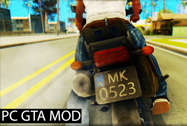 Free Download Pubg Bike IMVEHFT  Mod for GTA San Andreas.