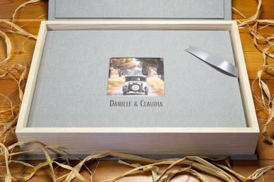 album box scatola legno