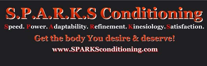 S.P.A.R.K.S Conditioning: The Blog. Build The Body and Life You Desire and Deserve!
