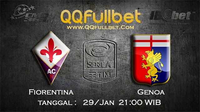 PREDIKSIBOLA - Prediksi Taruhan Bola Fiorentina vs Genoa 28 Januari 2017 (Serie A Italia)