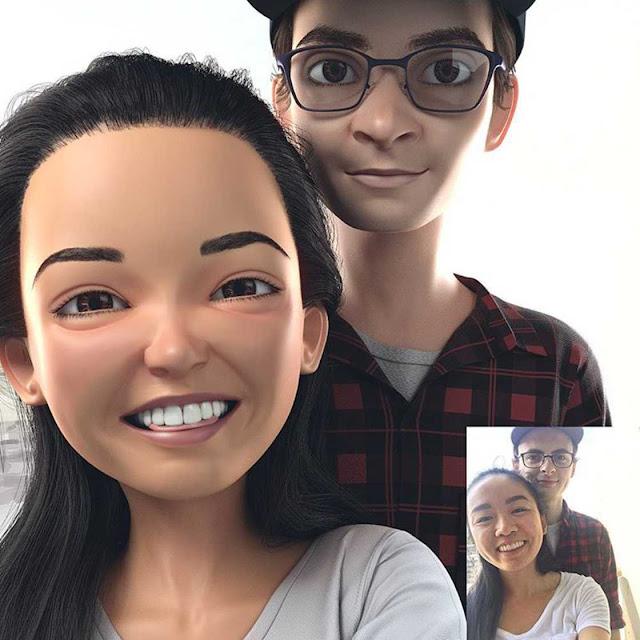 Artista transforma a foto de pessoas comuns em belas fotos 3D