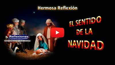 El sentido de la navidad✅Érase una vez un hombre que no creía en Dios. No tenía reparos en decir lo que pensaba de la religión y de las festividades religiosas, como la Navidad.
