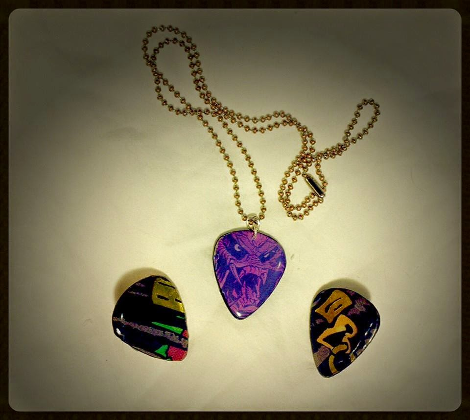 Predator Guitar Pick Jewelry