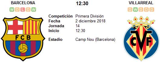 Barcelona vs Villarreal en VIVO