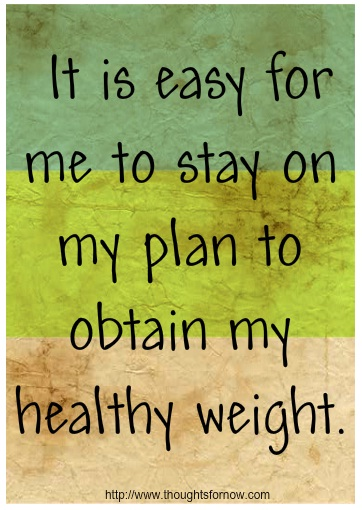 Affirmations for Weight-loss, Daily Affirmations